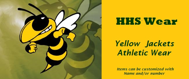 Hastings Yellow Jackets Athletic Wear Custom Shirts & Apparel